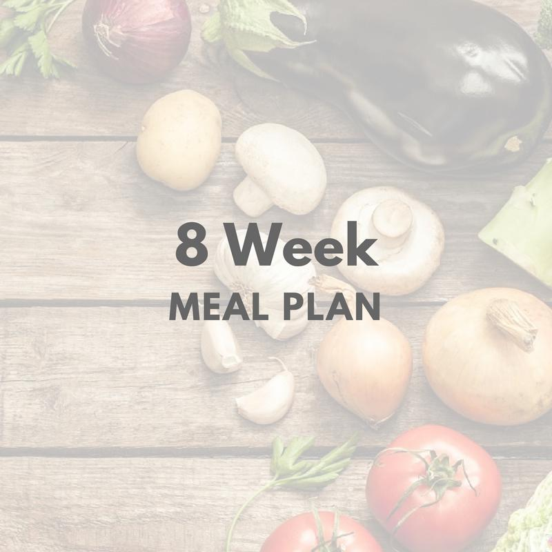 8 Week Meal Plan