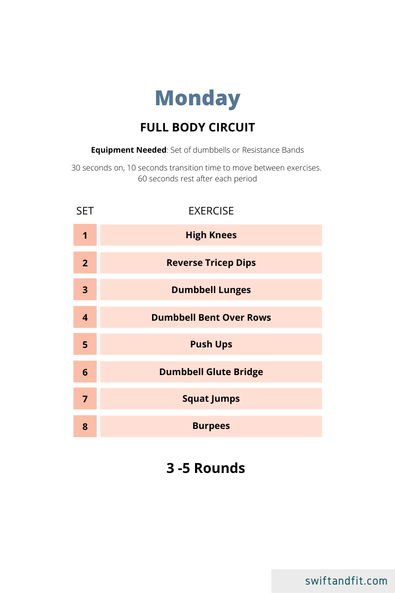At Home Body Shred Workouts