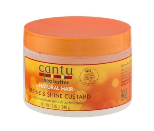 Cantu Shea Butter for Natural Hair Define & Shine Custard 12oz