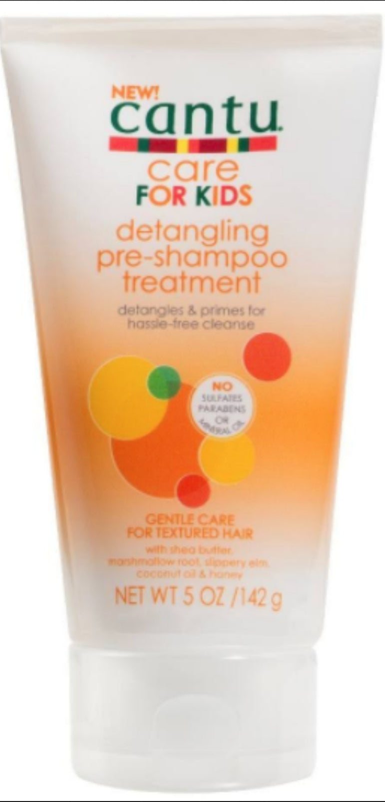 Cantu Care Detangling Pre-Shampoo Treatment 5 fl oz