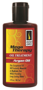 Doo Gro Mega Therapy Oil Treatment Argan Oil 3 oz