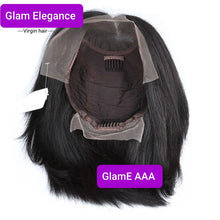 Glam Elegance Premium AAA Blunt Cut Short Lace Front Wig