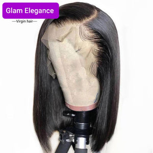 Glam Elegance Premium AAA Lace Frontal Side Part Bob Wig