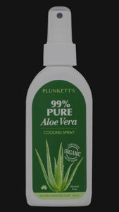 Plunkett's 99% Pure Aloe Vera Cooling Spray (125mL )
