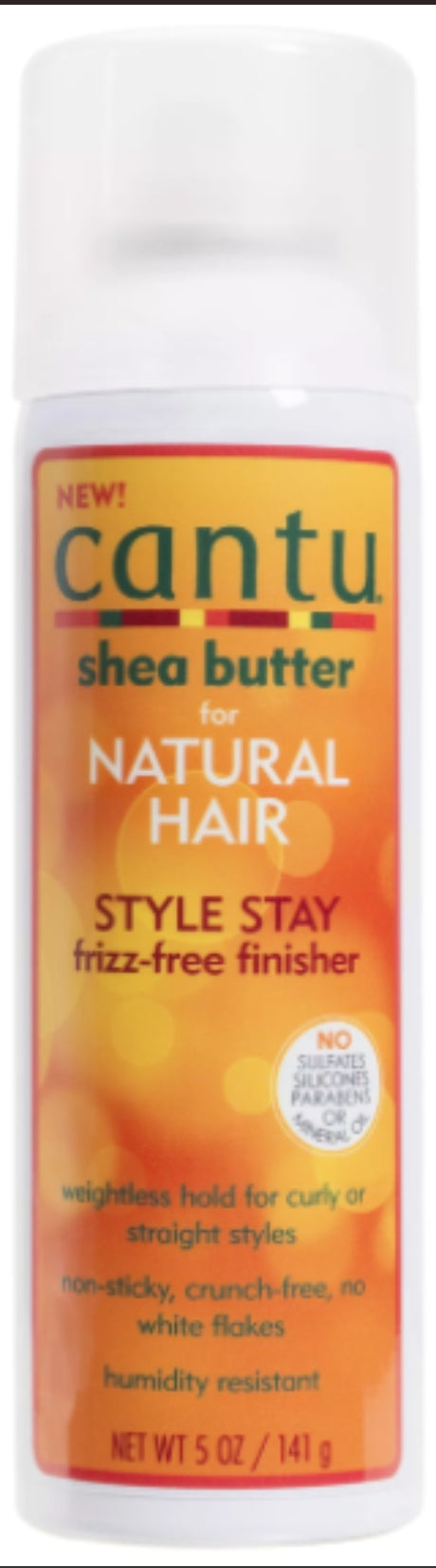 Cantu Natural Style Stay Frizz-Free Finisher 5 fl oz