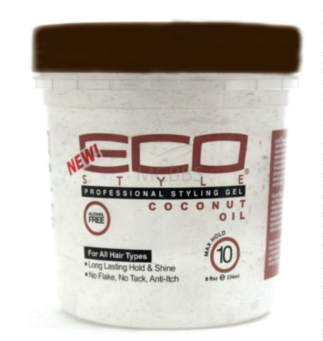 Eco Style Coconut Styling Gel 8 oz