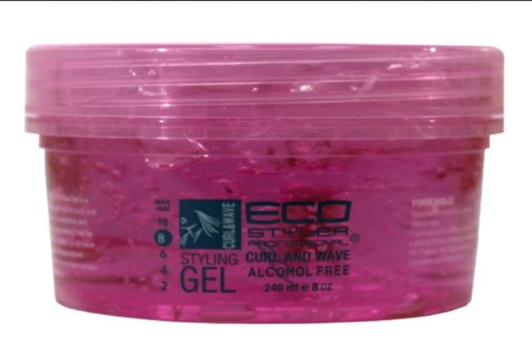 Eco Style Curl and Wave Styling Gel 8 oz