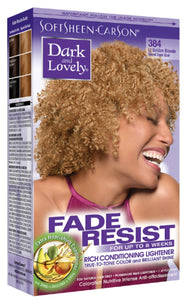 Dark and Lovely Fade Resist Hair Color Light Golden Blonde