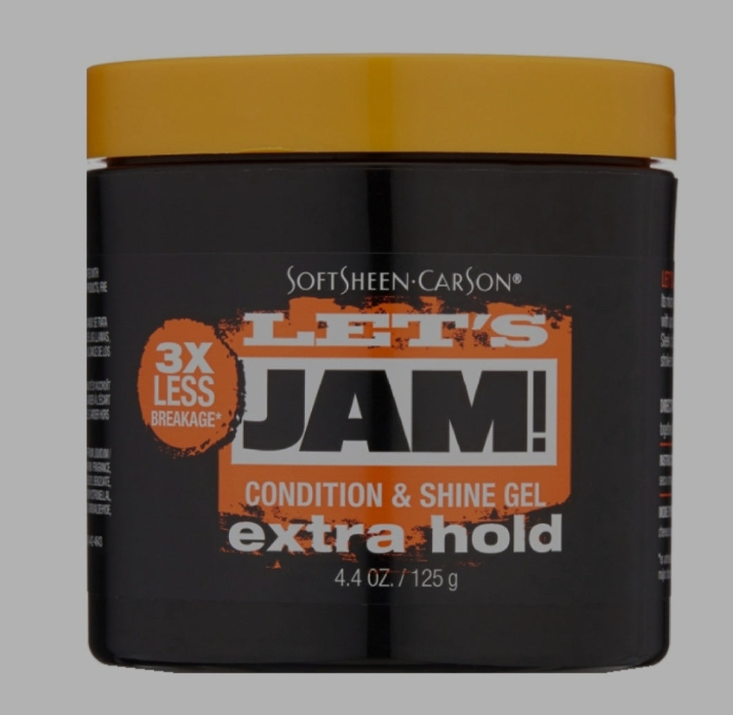 Soft Sheen-Carson Let's Jam! Shining & Conditioning Gel Extra Hold 4.4 oz