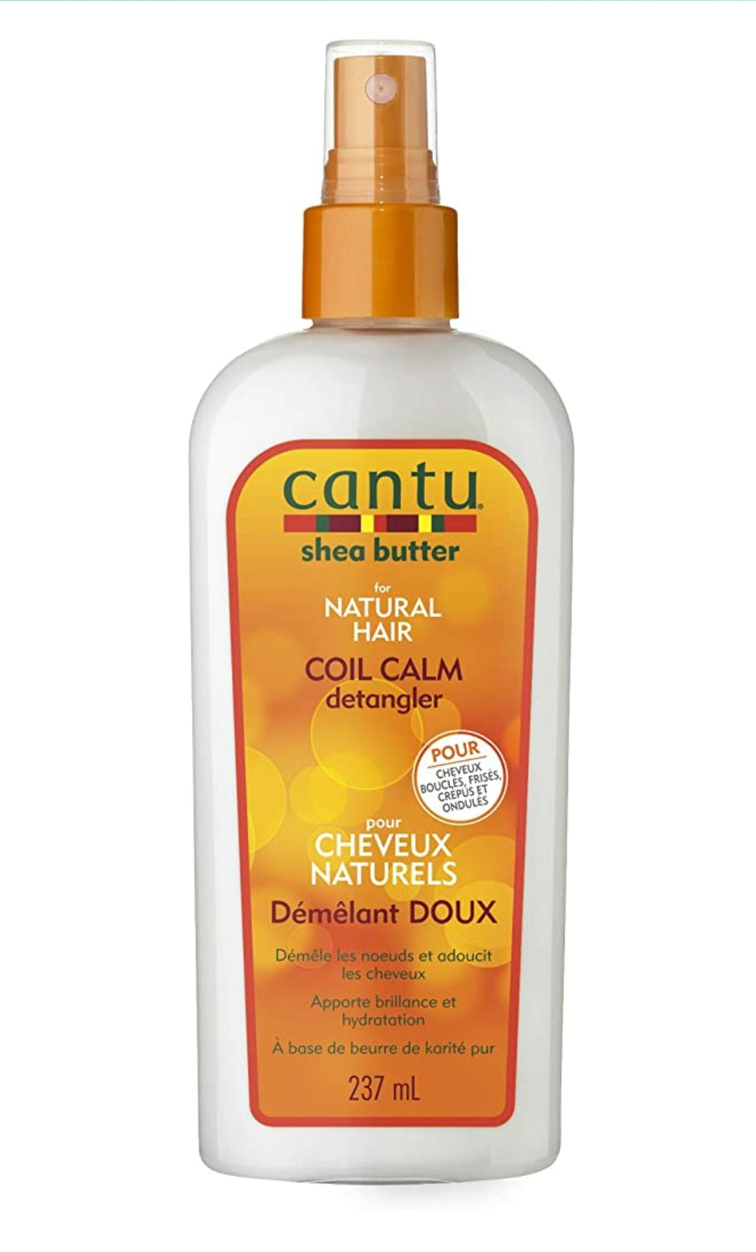 Cantu Shea Butter For Natural Hair Coil Calm Detangler 8 oz