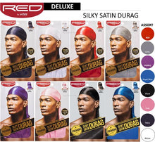 Red by Kiss Premium Quality Silky Satin Durag