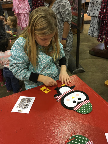 BPS Santa's Wonderland Event Crafting Photo