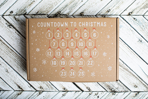 Countdown to Christmas Advent Calendar - Kids Crafts Inc