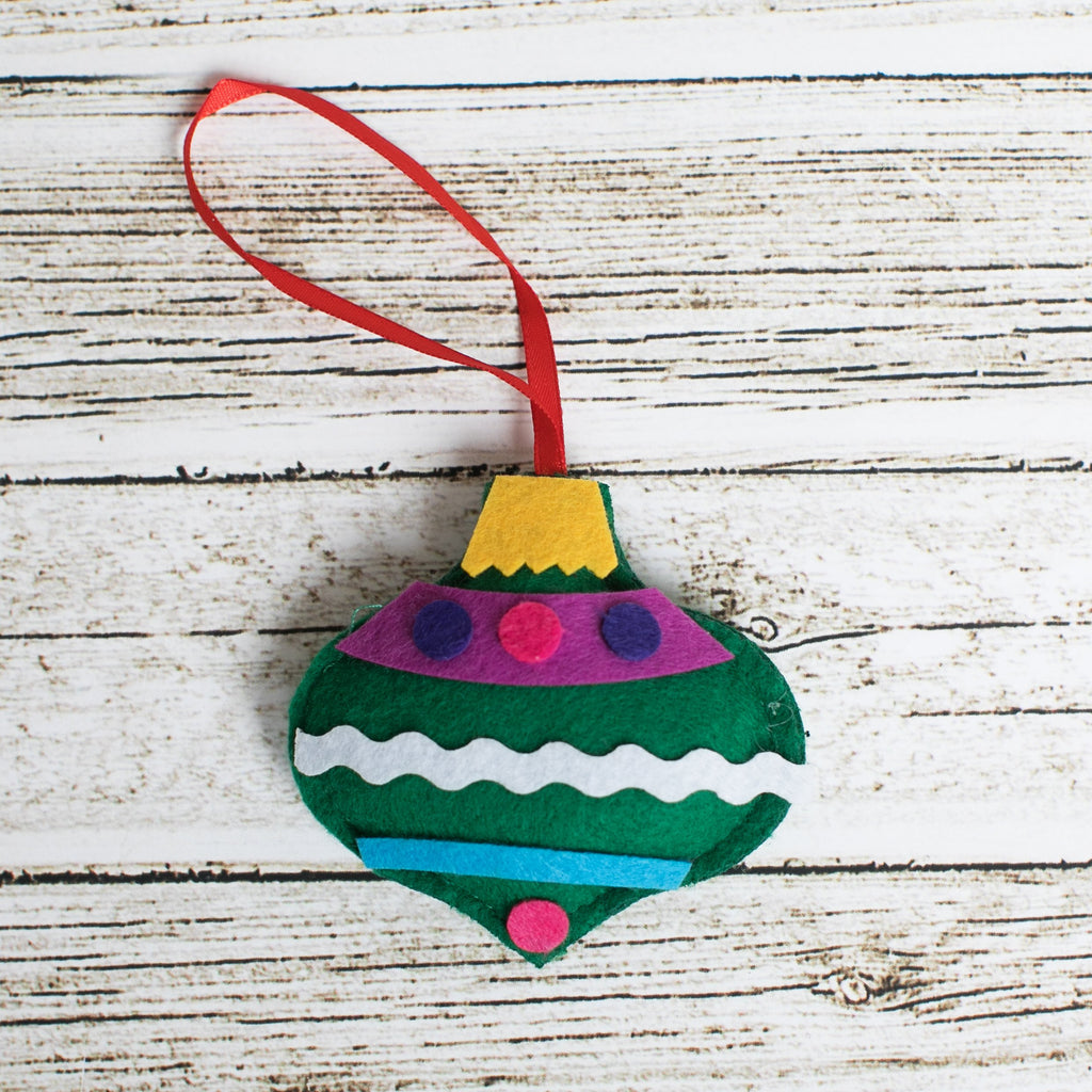 Bauble Ornament Craft Kit - Kids Crafts Inc