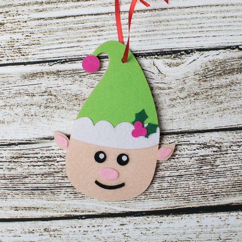 Elf Craft Kit - Kids Crafts Inc