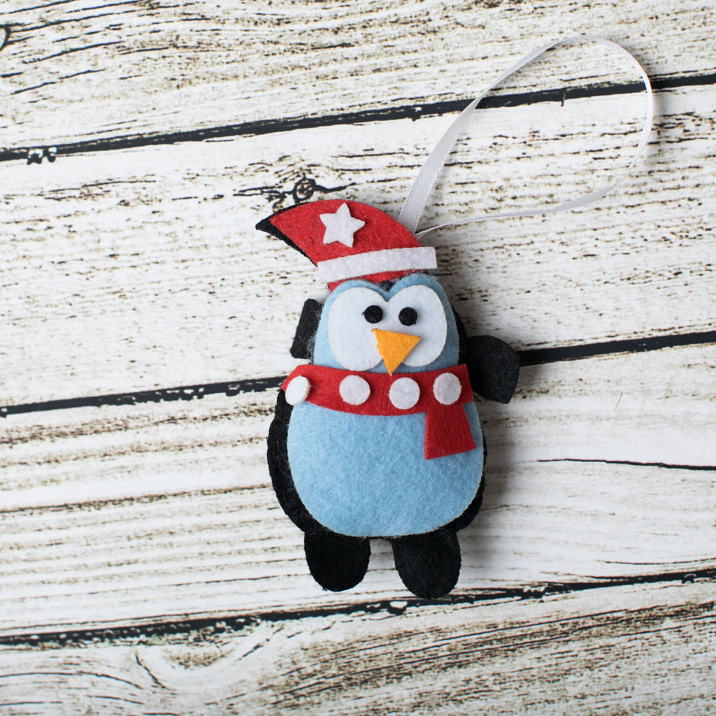 Penguin Craft Kit - Kids Crafts Inc
