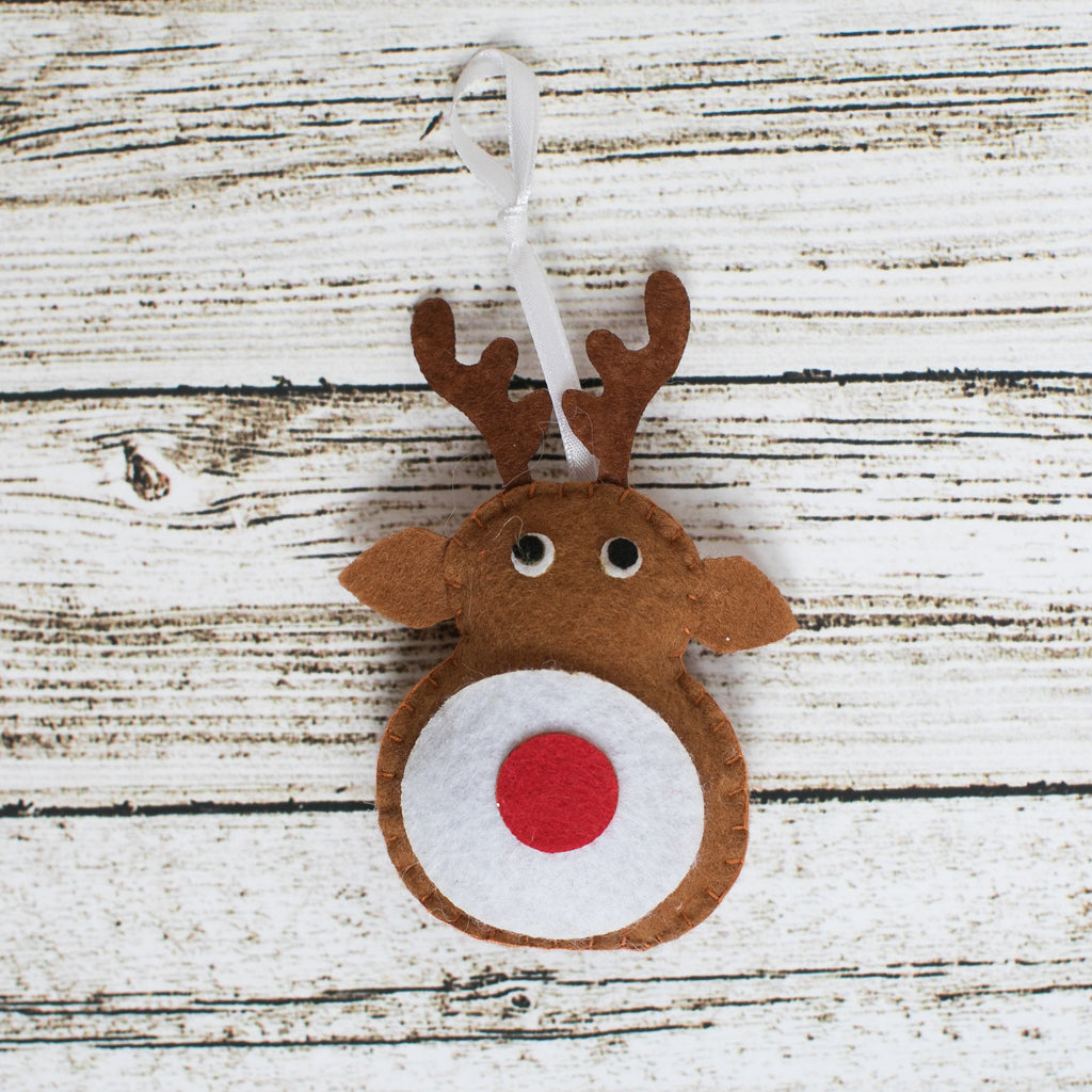 Rudolph Craft Kit - Kids Crafts Inc