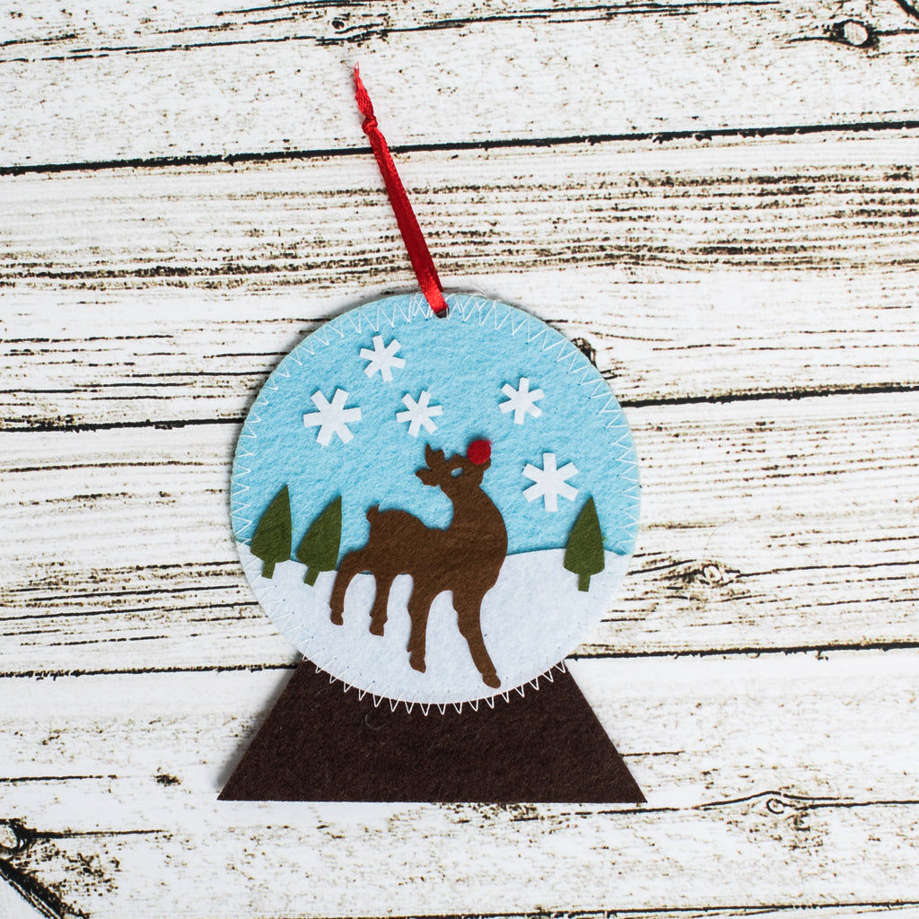 Snow Globe Craft Kit - Kids Crafts Inc
