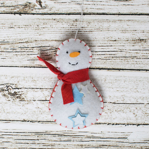 Snowman Craft Kit - Kids Crafts Inc