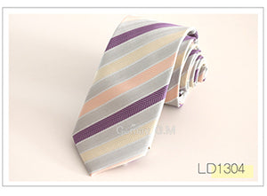 New Pink Styles Plaid Ties for men Fashion Classic Mans - ALL NECKTIES
