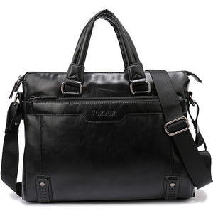 Men Briefcase Bag Large Capacity Shoulder Tote Bag - ALL NECKTIES