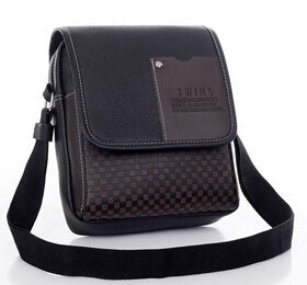 Leather Men Bag Fashion Men Messenger Bag - ALL NECKTIES