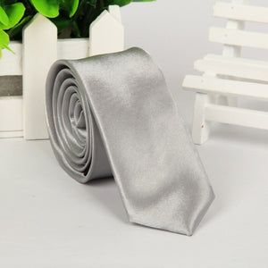 High quality men necktie skinny tie 5cm polyester - ALL NECKTIES