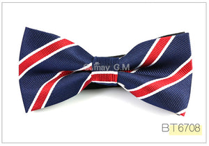 Polyester Bowtie for Men Fashion Casual or Wedding Party - ALL NECKTIES