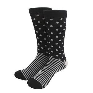 MYORED classical colorful Men's combed cotton business socks for men knee high socks - ALL NECKTIES