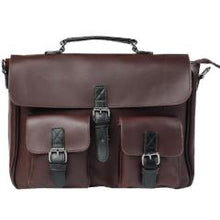 Metal zipper business Laptop shoulder bag - ALL NECKTIES