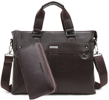 Men Leather Shoulder Bag and Purse - ALL NECKTIES