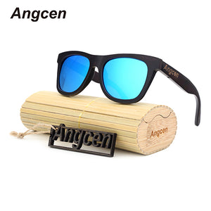 Angcen wood Sunglasses Fashion Gafas Bamboo Wooden Sunglasses Men  Sports Oculos DB78 - ALL NECKTIES