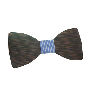 Wooden Men Boy Bow Tie Butterfly Wooden Bowties For Party Shirts Clothes Bowties - ALL NECKTIES