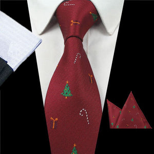 Design Animal Tie Set For Men Quality Silk Tie Hanky - ALL NECKTIES