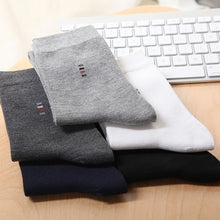 Classic men socks business cotton casual socks 5pairs - ALL NECKTIES