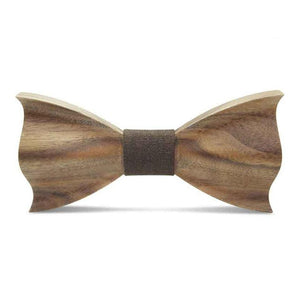 Novelty Three-Dimensional Wood Bow Tie For Men Weeding Classic Wood Bowtie Wood 3D Handmade Wooden Ties Gravata - ALL NECKTIES