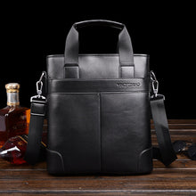 Famous Brand Leather Men Bags Fashion Male Messenger Business Bags Men's Small Briefcase Man Casual Crossbody Shoulder Handbag - ALL NECKTIES