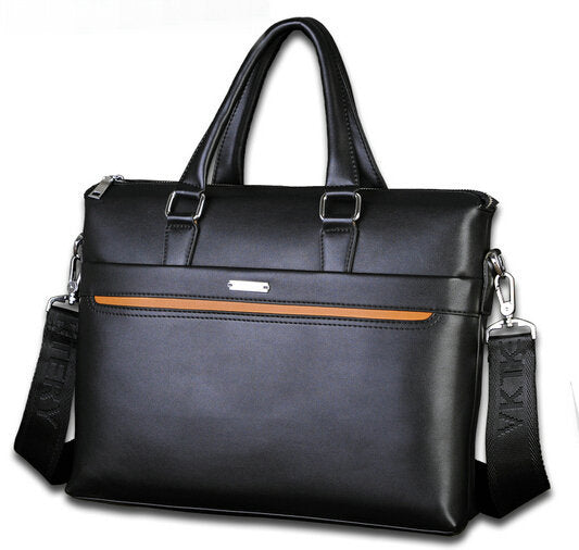 2017 new fashion Genuine leather men bag Business Bag man bag large capacity Briefcases - ALL NECKTIES