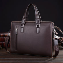 Man Handbag Genuine Leather Business Messenger Bag - ALL NECKTIES