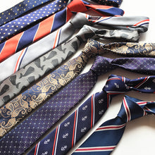 Stripes Necktie 6cm for men gifts - ALL NECKTIES