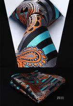Classic Handkerchief Set Classic Wedding Party Pocket Square Set - ALL NECKTIES