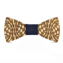 Wood Bow Tie For Men Classic Wooden Bowties Neckwear - ALL NECKTIES