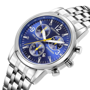 Men's Watches Fashion Classic Clock Male Stainless steel - ALL NECKTIES