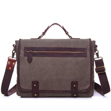 Vintage Business Messenger Bags Men 15 inches Laptop Cross body Bag - ALL NECKTIES
