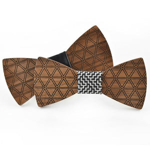 Mens Brand Wood Bowtie For Men Suit - ALL NECKTIES