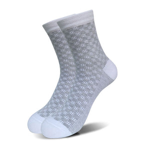 5 Pairs/Lot Mens Socks Square Print  Business Casual 5 Colors - ALL NECKTIES