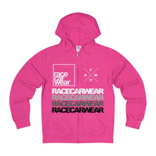RACECARWEAR Wall of Text Zipper Hoodie