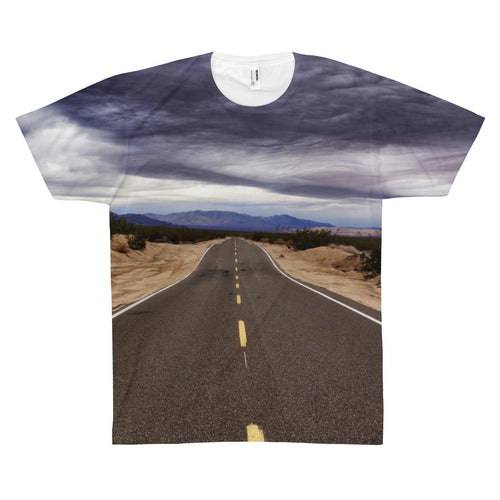 Overcast Highway Premium Art Shirt