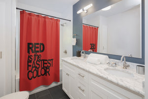 Red Shower Curtains