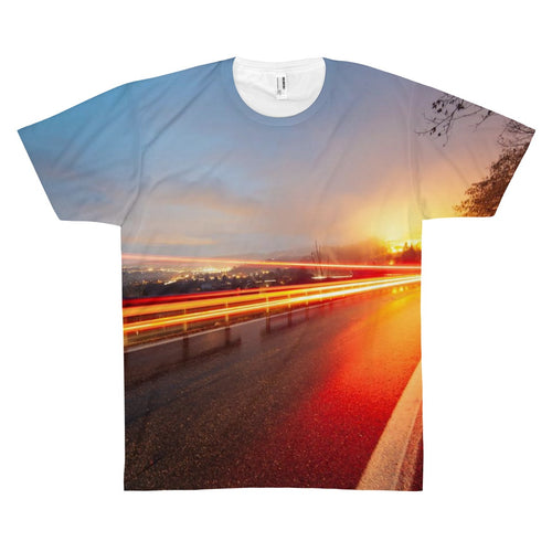 Sunset Drive Premium Art Shirt